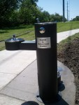Thanks to Mark and Carol Kreditor for the new water fountain near Royalshire!