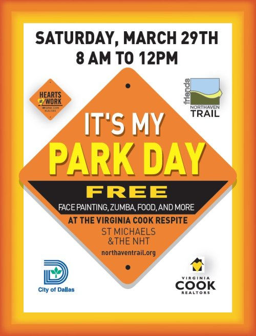 It's My Park Day flier